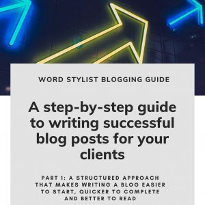 Writing blogs for clients